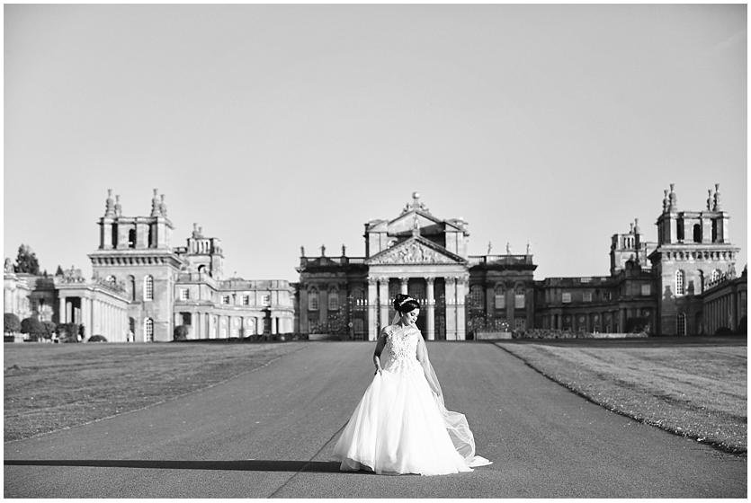Blenheim palace bride