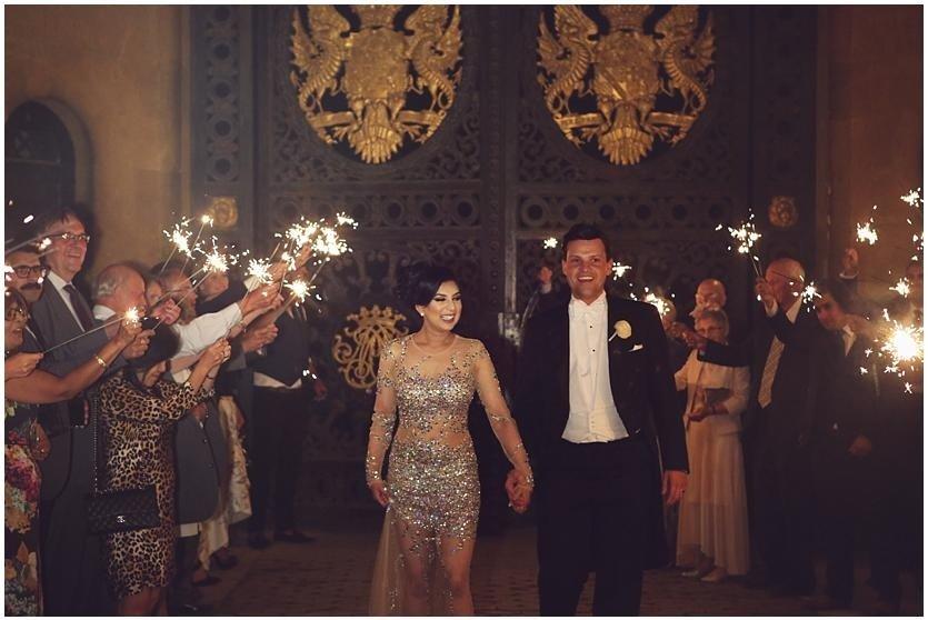 sparklers at Blenheim palace